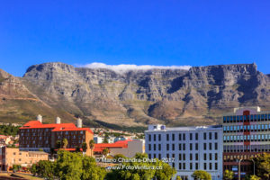Table Mountain, Cape Town - South Africa © Mano Chandra Dhas