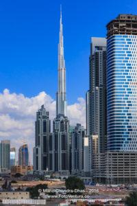 Dubai, UAE: Skyline Under Construction