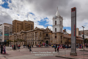 Bogota, Colombia - The Iglesia de San Francisco, The Oldest Church In The Capital City