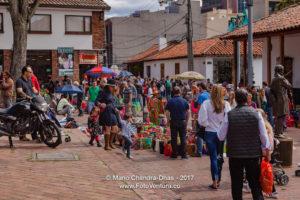 Bogotá, Colombia - The Weekly Mercado de Las Pulgas in Usaquén