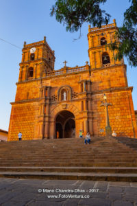 Barichara, Colombia - Historic Cathedral on the 300 Year Old Plaza