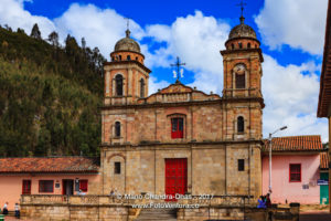 Nemocón, Colombia - Church On The Main Town Square