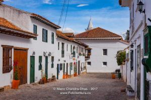 Villa de Leyva, Colombia - The Cobblestoned Calle 14 In The 16th Century Town