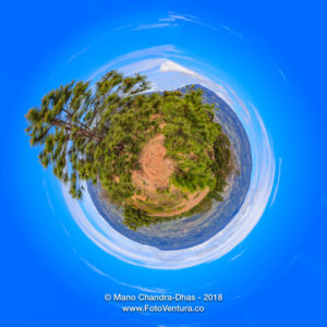 Little Planet - Pine Trees On The Andes Mountains Near The Town Of Villa De Leyva In The Boyacá Department of Colombia