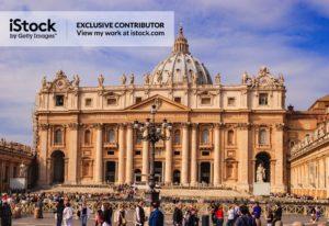 The Vatican City - St Peter's Baslica