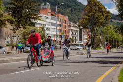 Bogotá, Colombia - The Weekly, Sunday Morning Ciclovia In Usaquén