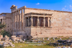Athens, Greece: Temple of Erechtheion and Caryatids Porch on the Acropolis © Mano Chandra Dhas