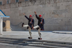 Athens, Greece - Ceremonial Guard at Tomb of Unknown Soldier © Mano Chandra Dhas