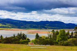 Guatavita, Colombia - El Niño at Embalse del Tominé
