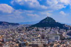 Athens, Greece - Mount Lycabettus viewed from the Acropolis © Mano Chandra Dhas