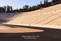 Athens Greece - The Marble Panathenaic Stadium © Mano Chandra Dhas
