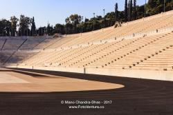 Athens Greece - The Marble Panathenaic Stadium © Mano Chandra Dhas