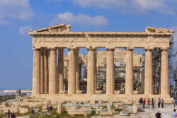 Athens Greece - The landmark Parthenon on Acropolis © Mano Chandra Dhas