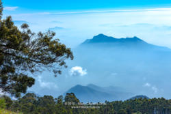 Kodaikanal, Tamil Nadu, South India - Peaks As Viewed On A Misty Morning From The Location Known Locally As Suicide Point