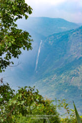Palani Hills, Tamil Nadu, South India - View To The Waterfall Known As The Rat Tail Falls On The Way To The Colonial Hill Station Of Kodaikanal; No People