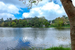 Kodaikanal, South India - Looking Across Kodaikanal Lake In The Colonial Town In The State Of Tamil Nadu