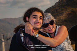 Colombia - Mother and Son - A Display of Love and Emotion. They