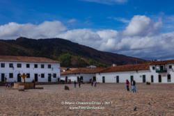 Villa de Leyva, Colombia - Morning On Cobblestoned Plaza Mayor