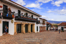 Villa de Leyva, Colombia - Calle 12 from Main Plaza